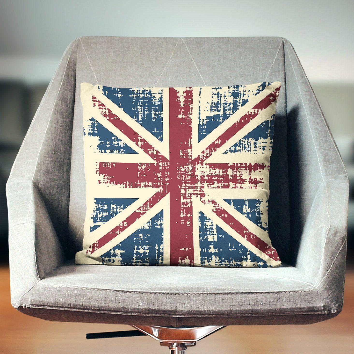 Union Jack Pillow-W.FRANCIS