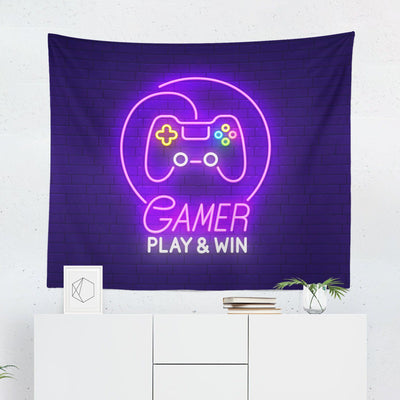 Video Game Tapestry-W.FRANCIS