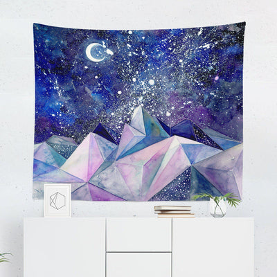Watercolor Night Tapestry-W.FRANCIS