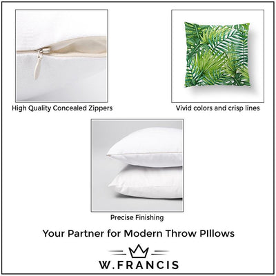 Winter Pillow | Throw Pillow | wFrancis Design