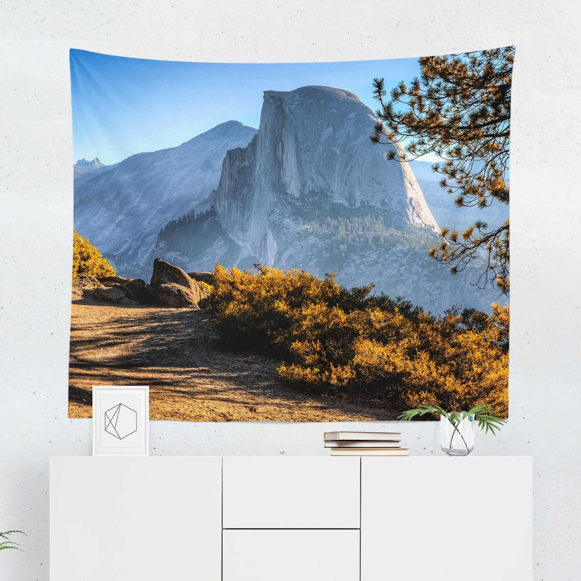 Yosemite Landscape Tapestry-W.FRANCIS