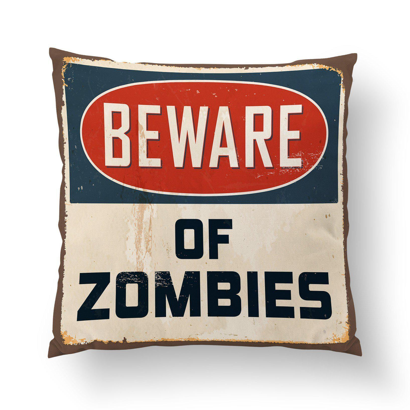 Zombie Pillow Cover-W.FRANCIS