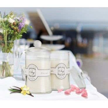The Soy Candle Co. Large Twin Pack Vanilla and Rose Fragrance - Brands Now
