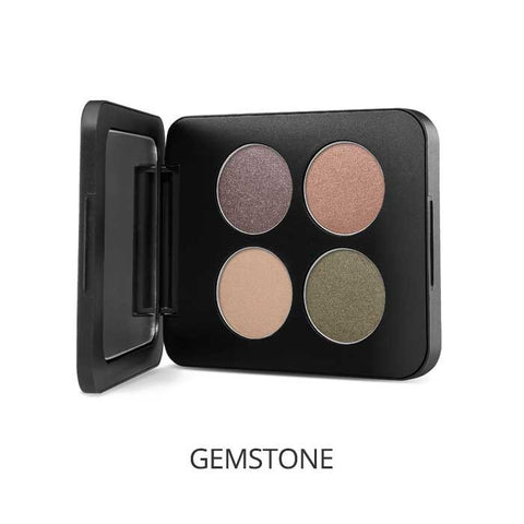 Pressed Mineral Eyeshadow Quad Colour: gemstones - Brands Now