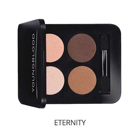 Pressed Mineral Eyeshadow Quad Colour: eternity - Brands Now
