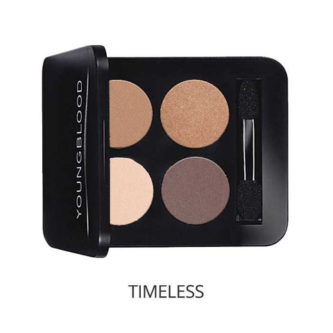 Pressed Mineral Eyeshadow Quad Colour: timeless - Brands Now