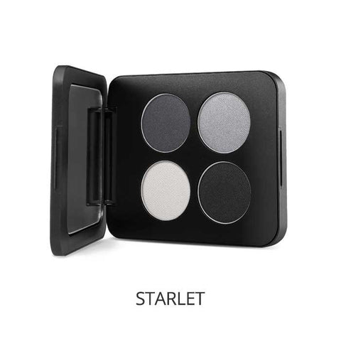 Pressed Mineral Eyeshadow Quad Colour: starlet - Brands Now