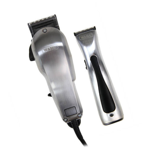 Wahl Brushed Chrome Combo - Brands Now