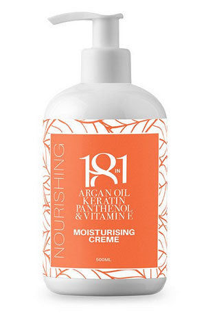 18 In 1 Argan Oil, Keratin, Panthenol & Vitamin E Moisturising Cream 500ml