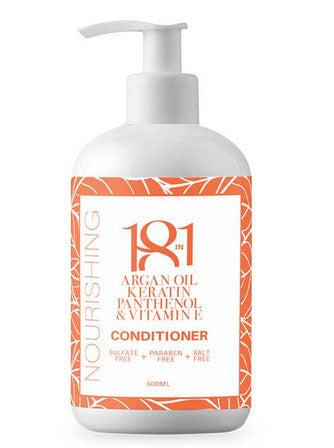 18 in 1 Argan Oil, Keratin, Panthenol & Vitamin E Nourishing Conditioner 500ml