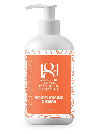 18 in 1 Argan Oil, Keratin, Panthenol & Vitamin E Moisturising Creme 200ml