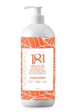 18 in 1 Argan Oil, Keratin, Panthenol & Vitamin E Nourishing Conditioner 1Ltr