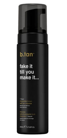 B.Tan Fake It Till You Make It… Self Tan Mousse 200ml