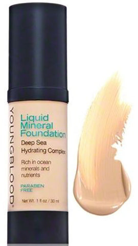 Liquid Mineral Foundation Colour: sand - Brands Now