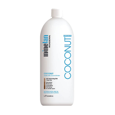 Mine Tan Solution Coconut 1ltr - Brands Now
