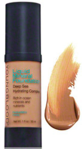Liquid Mineral Foundation Colour: tahitian sun - Brands Now
