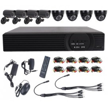 Utmark 8 Channel 8 Camera DVR Surveillance Kit With 1TB HDD 720P High Definition - Brands Now