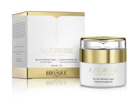 ALLEGRESSE 24K Gold Bio Anti Wrinkle Cream - Brands Now - 1
