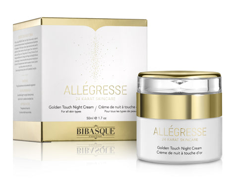 ALLEGRESSE 24K Gold Golden Touch Night Cream - Brands Now - 1