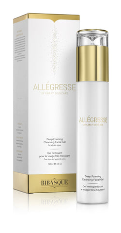 ALLEGRESSE 24K Gold Deep Foaming Cleansing Facial Gel - Brands Now - 1