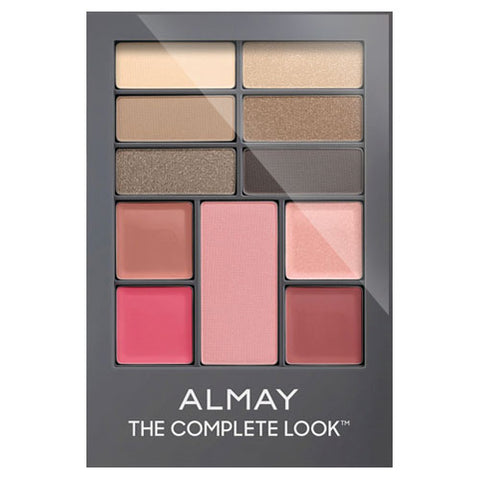Almay The Complete Look Palette 100 LIGHT/ MEDIUM