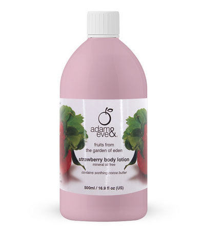 Adam & Eve Strawberry Body Lotion 500ml