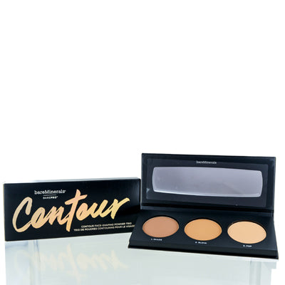 BAREMINERALS BAREPRO CONTOUR FACE SHAPING POWER PALETTE TAN TO DARK 0.51 OZ
