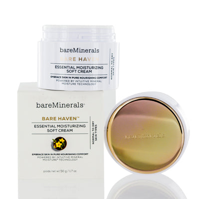 BAREMINERALS BARE HAVEN MOISTURIZING SOFT CREAM 1.7 OZ (50 ML)