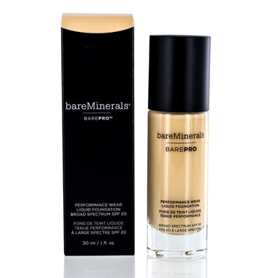 BAREMINERALS BAREPRO PERFORMANCE WEAR FOUNDATION LIQUID GOLDEN IVORY 1.0 OZ