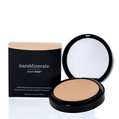 BAREMINERALS BAREPRO PERFORMANCE WEAR PRESSED PWDR FOUNDATION CASHMERE 0.34