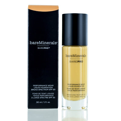 BAREMINERALS BAREPRO PERFORMANCE WEAR FOUNDATION LIQUID CAMEL1.0 OZ (30 ML)
