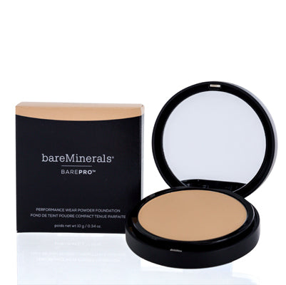 BAREMINERALS BAREPRO PERFORMANCE WEAR PRESSED PWDR FOUNDATION GOLDEN NUDE 0.34