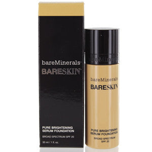 BAREMINERALS BARESKIN PURE BRIGHTENING SERUM FOUNDATION SPF 20 (BARE BUFF) - Brands Now