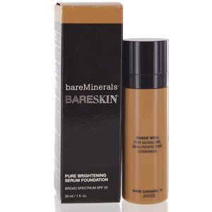 BAREMINERALS BARESKIN PURE BRIGHTENING SERUM FOUNDATION SPF 20 (BARE CARAMEL) - Brands Now