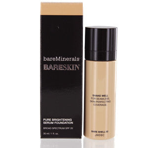 BAREMINERALS BARESKIN PURE BRIGHTENING SERUM FOUNDATION SPF 20 (BARE SHELL) - Brands Now