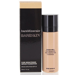 BAREMINERALS BARESKIN SPF 20 FOUNDATION SERUM (BARE SATIN) - Brands Now