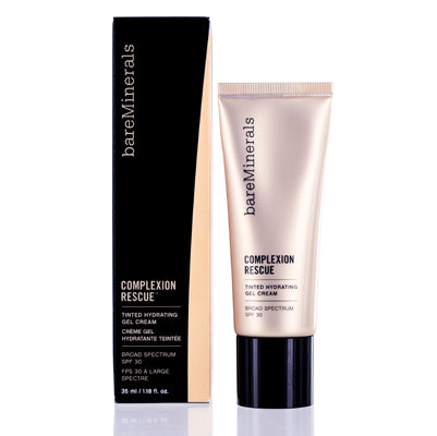 BAREMINERALS COMPLEXION RESCUE TINTED HYDRATING CREAM GEL (2) VANILLA 1.18 OZ