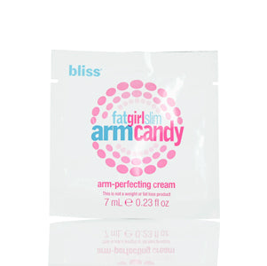 BLISS FATGIRLSLIM SKIN ARM CANDY PERFECTING CREAM 0.23 OZ PROVIDES FIRMER-SMOOTHER&TONED APPEARANCE