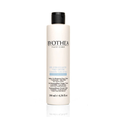 Byothea Makeup Remover Face And Eyes Chamomile And Silk Milk 200ml - Brands Now