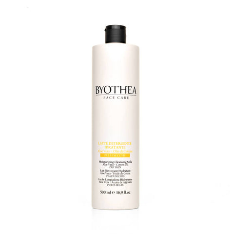 Byothea Moisturising Cleansing Milk Aloe Vera And Cotton Oil 500ml - Brands Now