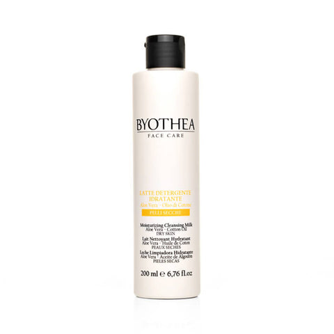 Byothea Moisturising Cleansing Milk Aloe Vera And Cotton Oil 200ml - Brands Now