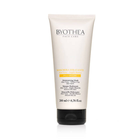 Byothea Moisturising Mask Aloe Vera And White Clay 200ml - Brands Now
