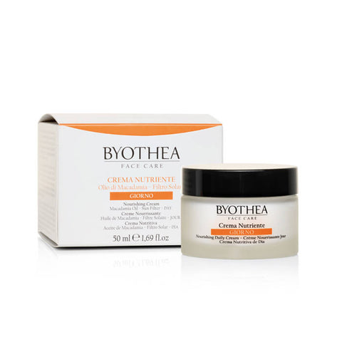 Byothea Nourishing Cream Day Macadamia Oil And Sun Filter 50ml - Brands Now