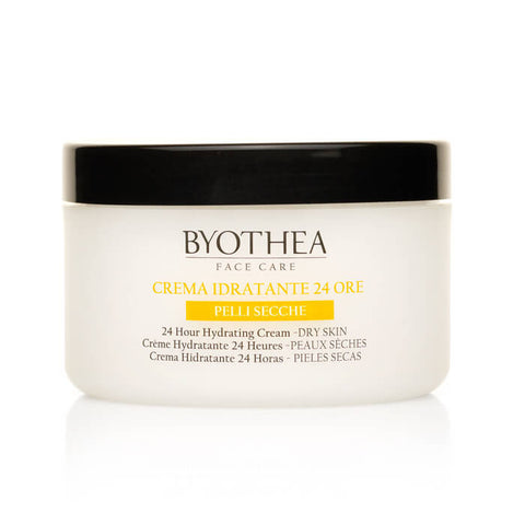 Byothea 24 Hour Hydrating Cream Dry Skin Marine Collagen And Argan Oil 200ml - Brands Now