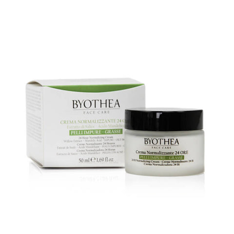 Byothea 24 Hour Normalising Cream Willow Extract And Mandelic Acid 50ml - Brands Now