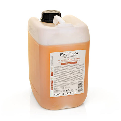 Byothea Body Oil Massage Sweet Almond Oil And Coconut Oil Almond 5Ltr - Brands Now