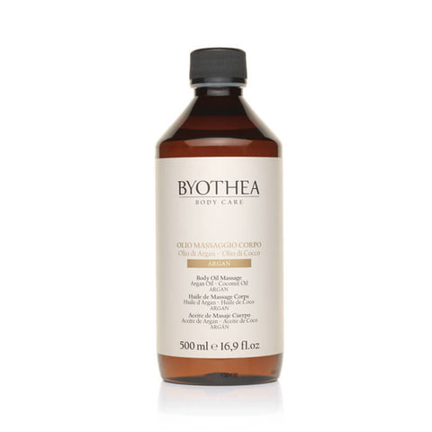 Byothea Body Oil Massage Argan Oil And Coconut 500ml - Brands Now