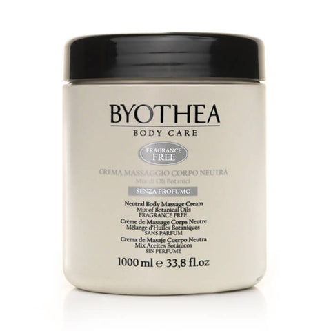 Byothea Neutral Body Massage Cream Mix Of Botanical Oils 1Ltr - Brands Now
