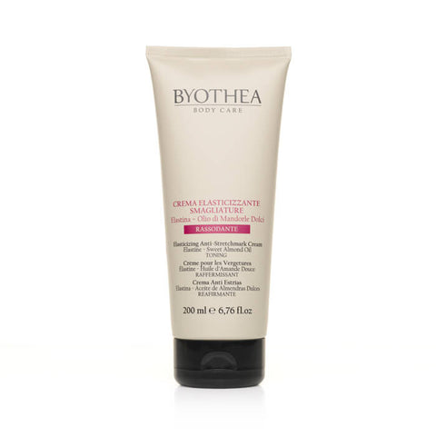 Byothea Elasticising Anti Stretchmark Cream Elastin And Sweet Almond Oil 200ml - Brands Now