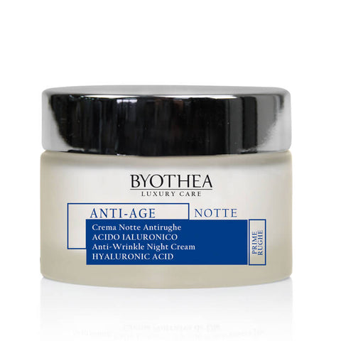 Byothea Anti-Wrinkle Night Cream Hyaluronic Acid 50ml - Brands Now